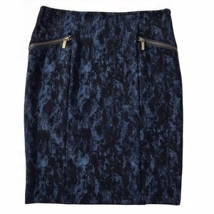 Michael Kors 'Derby' Ponte Stretch Pencil Skirt